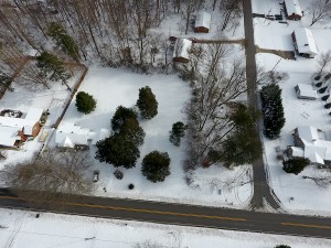 Overhead of parcel for sale